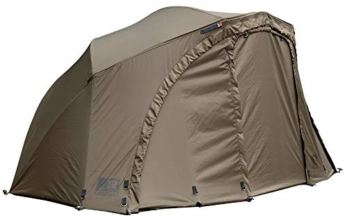 FOX R-Series Brolly System 262x178x128cm - Karpfenzelt zum Ansitzangeln auf Karpfen, Angelzelt zum Karpfenangeln, Zelt für Angler