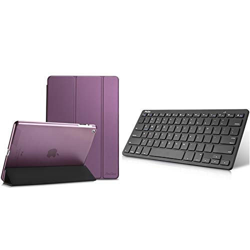ProCase iPad 2 3 4 Case (Old Model) Bundle with Wireless Keyboard for iPad Android Windows Tablets Smartphone