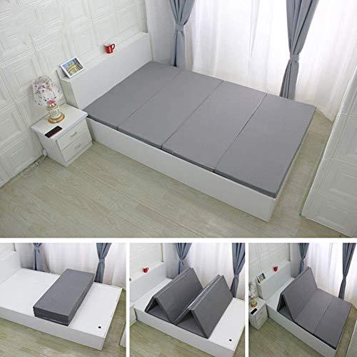 HKX - Colchón de futón japonés suave, no resbalón, plegable, tatami, colchón...