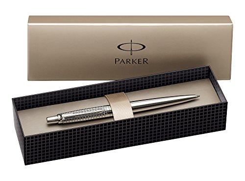 Parker 620600 Jotter Premium: Penna a Sfera Acciaio Opaco Cesellato S0908840