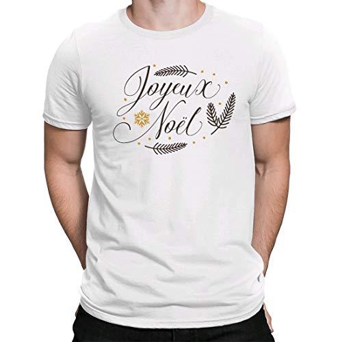Camiseta Navidad,Regalo Navidad,Christmas t Shirts,Estampado,Joyeux Noel, Camiseta para Hombre Manga Corta Hombre...