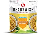ReadyWise Early Dawn Breakfast Skillet (Single Pouch)   Freeze-Dried Backpacking & Camping Food   2.5 Servings   Made With Real Sausage & Eggs   Gluten Free