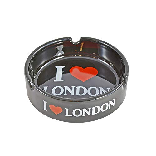 Sterling product Ceramic Cigarette Ashtrays, Persoanlised Premium Collectable London Landmarks Gift & Souvenir, Ash005