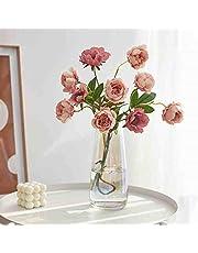 ガラス 花瓶 カラー ガラス フラワーベース ガラス製 花瓶 花器 透明 ヨーロピアンスタイル クリア フラワーベース 硝子瓶 北欧風 花器 おしゃれ 美しい 高級感 セメントカラフル 北欧風