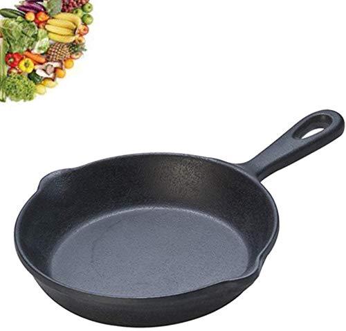 Pot De Fer en Fonte Antiadhésive Poêle Chef Ustensile De Cuisson Restaurant Casserole Ustensiles De Cuisine Accessoires,20 Cm