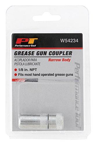 Performance Tool W54234 Grease Gun Coupler Narrow Body