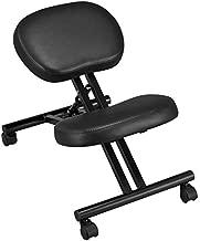 Topeakmart Ergonomic Kneeling Chair Improve Posture & Neck Pain Home Office Desk Chairs Flexible Seating Rolling Adjustable Stool