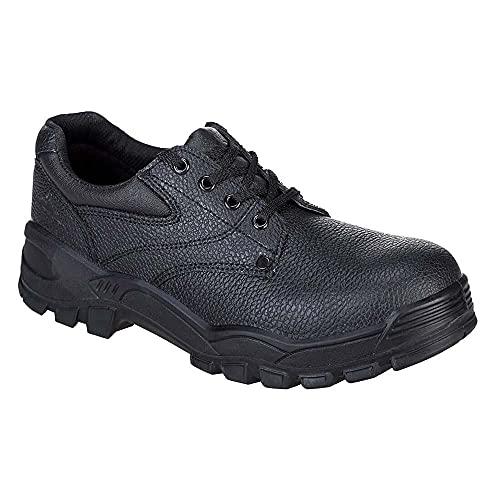 Portwest FW14, Calzado de protección de piel para hombre S1P, color negro, talla 43 EU (9 UK)