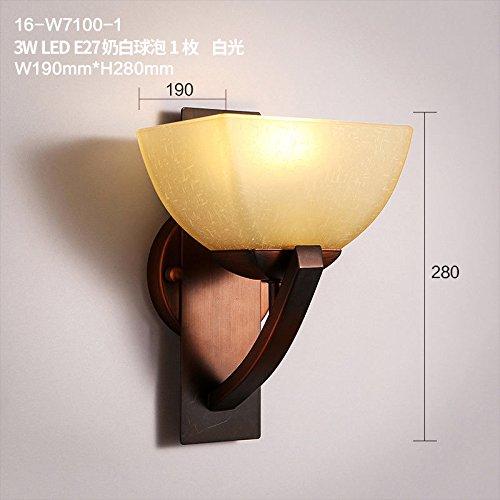 JJZHG wandlamp wandlamp waterdichte wandverlichting creatieve retro staande lamp - trap enkele kop persoonlijke wandlamp omvat: wandlamp, stoere wandlampen