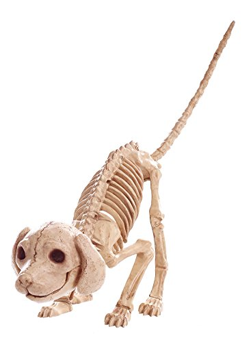 Crazy Bonez Pouncing Skeleton Puppy