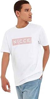 Nicce T-Shirts 19310902 BNWT Black Nicce Reflex Crew Neck Tee