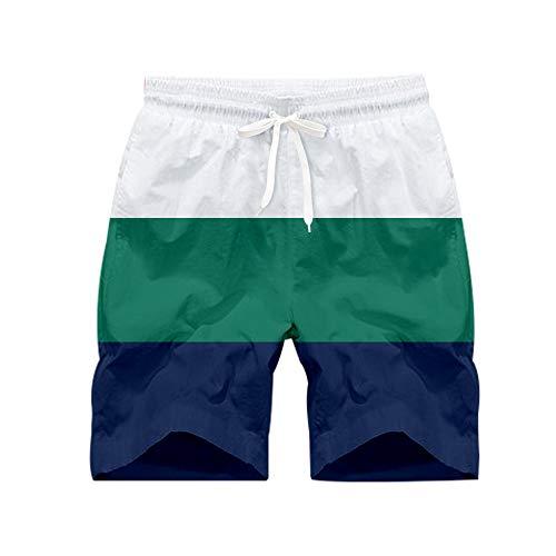 Blwz Quick Dry Shorts String Orizzontal 3D zwembroek zwembroek bedrukt voor surf outdoor