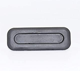 HsgbvictS Key Shell Case Ignition System Key Shell 2 Buttons Uncut Blank Remote Key Shell Case for Citroen C2 C3 C4 without Groove Black