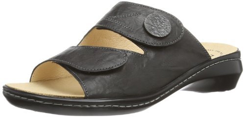 Think! Womens Camilla 88420 Black Leather Sandals 38 EU