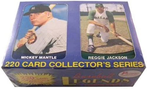 1989 cific Baseball Legends Trading Card Factory Set