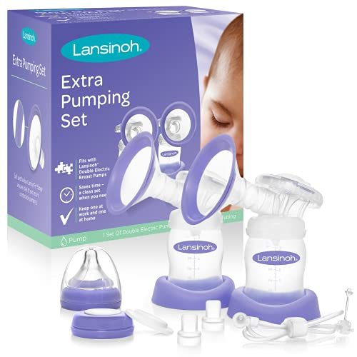 Lansinoh Extra Pumping Set with Breast Pump Parts