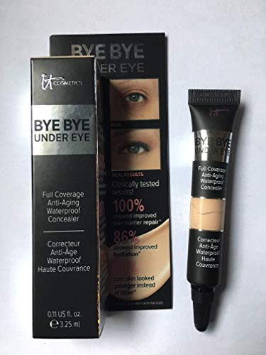 Bye Bye Under Eye Full Coverage Anti-Aging Waterproof Concealer (0.11 FL OZ, Light Natural)