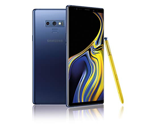 Samsung Galaxy Note 9 (Single SIM) 128 GB 6.4-Inch Android 8.1 Oreo UK Version SIM-Free Smartphone – Ocean Blue