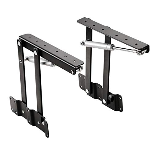 DXDHUB 2pcs Table Bisagras, Tapa Tapa Top Filos Plegables De Hardware Muebles De Elevación
