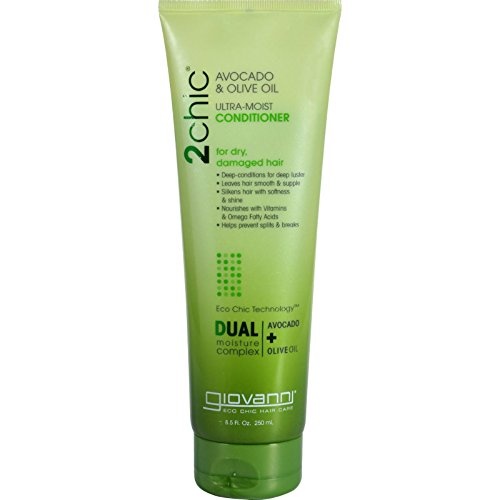 Giovanni Hair Care Products–Conditioner–2Chic aguacate and Olive Oil–8.5Oz
