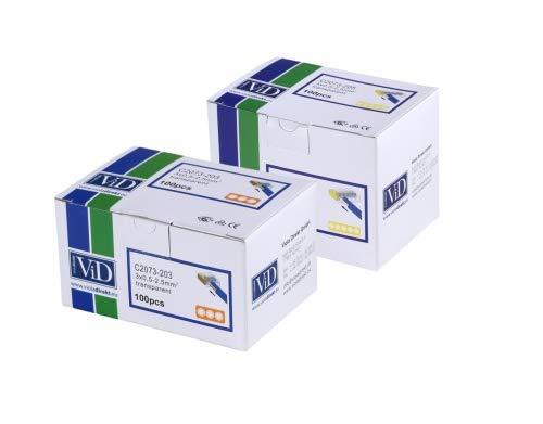 VID steckklemmen-assortimento 200 pezzi serie 2073 0,5-2,5 mm²