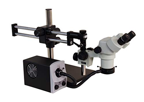Stereo Zoom Microscope with Boom Stand Single Arm