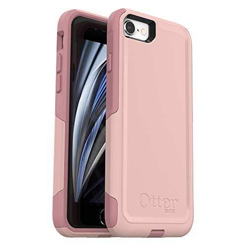 OtterBox COMMUTER SERIES Case for iPhone SE (2nd Gen - 2020) & iPhone 8/7 (NOT PLUS) - Retail Packaging - BALLET WAY (PINK...