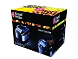 Russell Hobbs 21850-56 Cook@Home Multicooker (900 Watt, 5 l, 11 Kochprogramme, Anti-Kondensations-Deckel, Warmhaltefunktion) schwarz/silber - 11