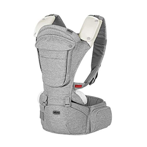 Chicco Sidekick Plus 3 in 1 Hip Seat Carrier, Titanium