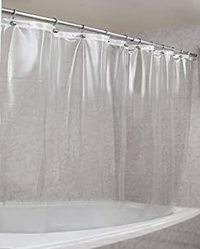 Epica Strongest Heavy-Duty Clear Vinyl Shower Curtain Liner –72 inches x 72 inches  Clear