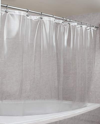 Epica Strongest Heavy-Duty Clear Vinyl Shower Curtain Liner –72 inches x 72 inches (Clear)