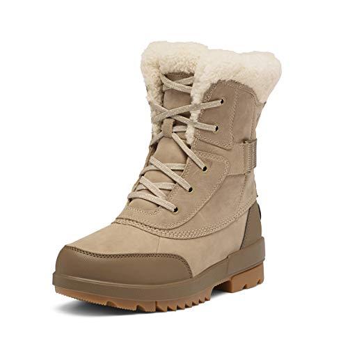 Sorel Women's Tivoli IV Parc Boot - Rain and Snow - Waterproof - Sandy Tan - Size 9