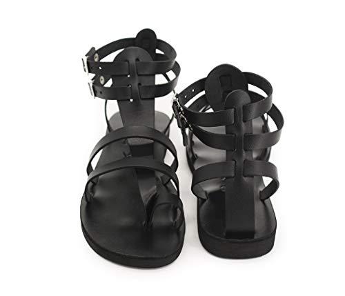 Men gladiator handmade leather sandals Greek Roman all Sizes - FASCINATION