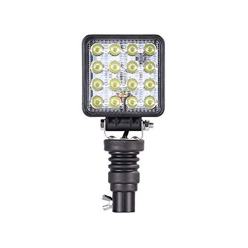 LED-MARTIN 48W Arbeitsscheinwerfer für DIN Rundumleuchten-Halter