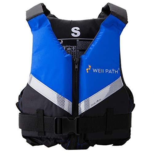 Chaleco de natación para Adultos, Ayuda a la flotabilidad con Hebilla Ajustable, flotabilidad para Deportes acuáticos, Pesca, Surf, Buceo, Rafting, Kayak
