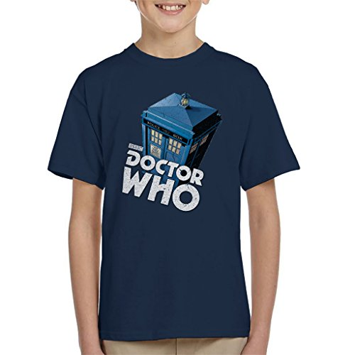 Kids Classic Doctor Who TARDIS T-shirt, Ages 3 to 13 Years