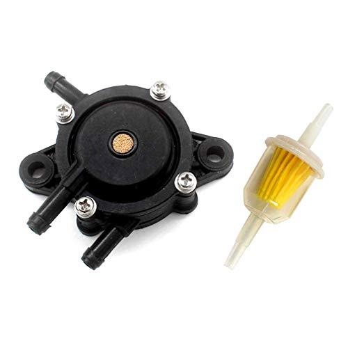 AISEN Gas Fuel Pump Fuel Filter for Kawasaki 49040-7008 FS481V FS541V...