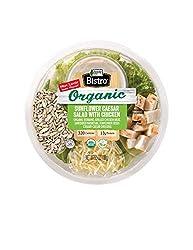 Organic Bistro Sunflower Caesar Salad with Chicken, 5.5 oz