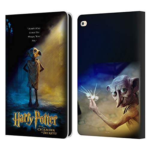 Official Harry Potter Dobby Poster Chamber Of Secrets III Leather Book Wallet Case Cover Compatible For Apple iPad Air 2 (2014)