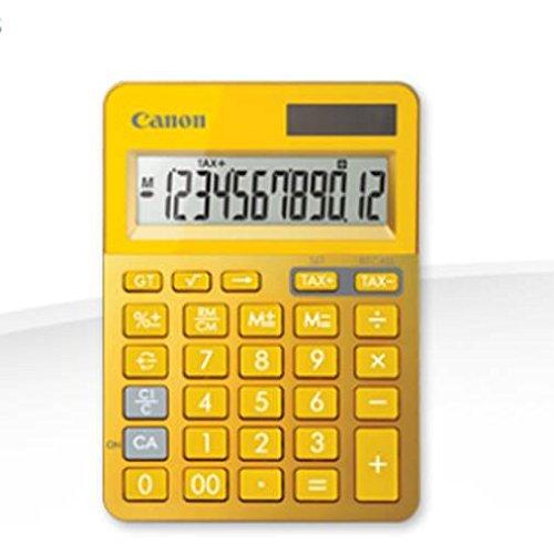 Canon 9490B006AA rekenmachine LS-123K-MYL, geel