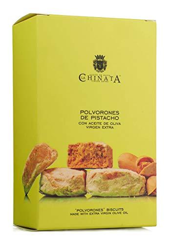 Polvorones de Pistacho con Aceite de Oliva Virgen Extra - La Chinata (320 g)
