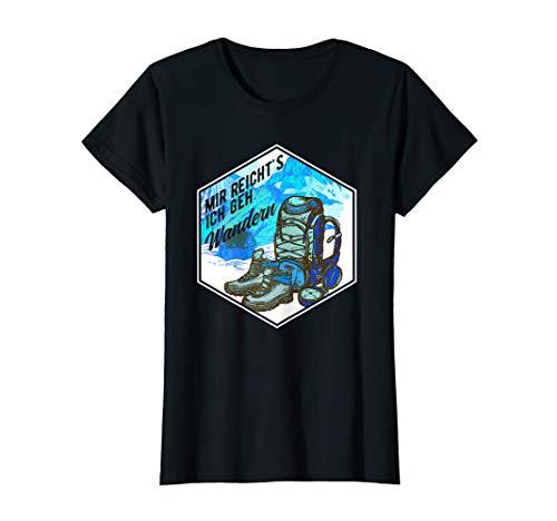 Damen Mir Reichts Ich Geh Wandern T-Shirt