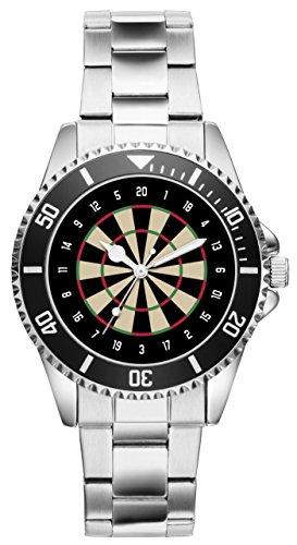 KIESENBERG - Geschenk für Dart Darts Dartspieler Fan Uhr 6037
