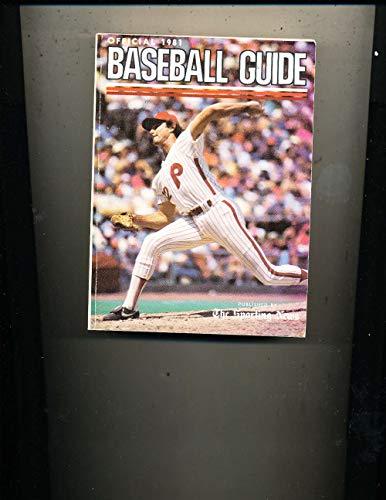 1981 Steve Carlton Phillies Baseball Guide TSN bxbg