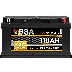 BSA 110Ah 12V 920A