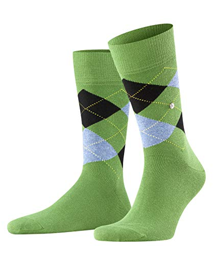 Burlington Herren King M SO Socken, grün (pesto 7165), 40-46