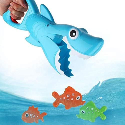Badewannen Spielzeug Fisch Für Kinder Baby Mädchen Ab 4 /5 Jahre Hai Grabber Puzzle Spielzeug Wasserspielzeug Kinder Badewanne Schwimmbad 5 Stück Badespielzeug Bad Angeln Mit Schwimmenden Fisch