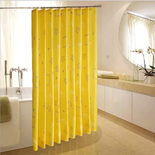 Nobrand douchegordijn nieuw verdikt waterdicht polyester hotel douchecabine slaapkamer badkamer badkuip