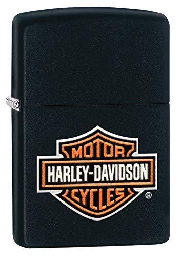 Zippo Harley-Davidson Texture Print Classic Logo Pocket Lighter
