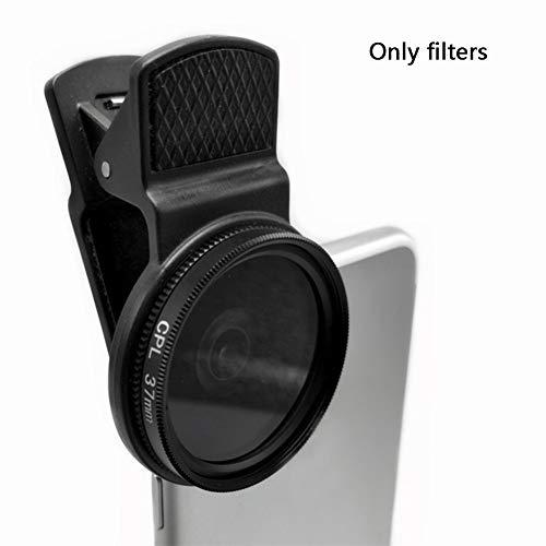 37 mm CPL – Gewinde Digital SLR Pro Objektiv, Handy-Objektiv-Zubehör für iPhone, Samsung und andere Smartphones